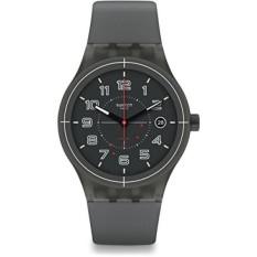 GPL/Swatch Pria Asli SUTM401 Grey Plastik Swiss Otomatis Modis Jam Tangan/Kapal dari Amerika Serikat-Internasional