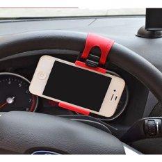 GPS Phone Holder Setir Stir Mobil Model Universal Bisa Untuk Semua Merk