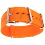 Spesifikasi Gracefulvara Pria Wanita Olahraga Pergelangan Tangan Gelang Jam Tali Nilon Oranye 18Mm Gracefulvara