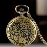 Spesifikasi Gracefulvara Retro Klasik Adapula Pola Rantai Kalung Liontin Perunggu Kuarsa Jam Saku Lengkap Dengan Harga