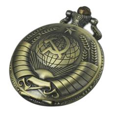 Spesifikasi Gracefulvara Vintage Retro Perunggu Nada Steampunk Kuarsa Kalung Perhiasan Jam Saku Liontin Lengkap