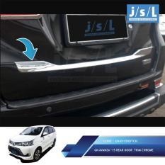 Grand All New Avanza List Pintu Belakang JSL/ Rear Door Chrome