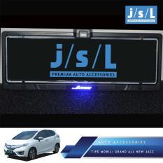 Grand All New Jazz Plat Nomor JSL/ Plate Number W/Lamp Logo