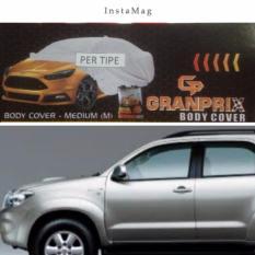PADIE - GRANPRIX Body Cover Mobil TOYOTA FORTUNER / Selimut Mobil / Pelindung Mobil / Body Cover Mobil