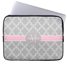 Penawaran Istimewa Grey Pink Putih Moroccan Pola Lengan Laptop Notebook Cover Atau 13 Inch Intl Terbaru