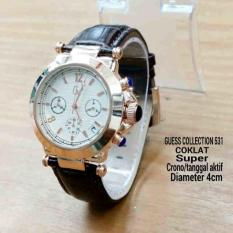 GSL03BR Jam Tangan Wanita Guess Collection Gc Chrono Aktif BROWN