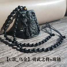 Spesifikasi Guan Gong Guan Gong Model Pria Wu Dewa Rejeki Guan Yu Pria Liontin Liontin Dan Harga