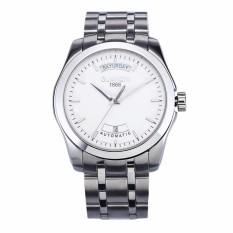 Harga Guanqin Automatic Mechanical Stainless Steel Watch Olahraga Watch Waterproof Bercahaya Klasik Self Wind Watch Stylish Bisnis Jam Tangan Internasional Branded