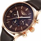 Spesifikasi Guanqin Gq12003 Laki Laki Quartzwatch Dial Jam Tangan Merek Swiss Besar Coklat Lengkap Dengan Harga