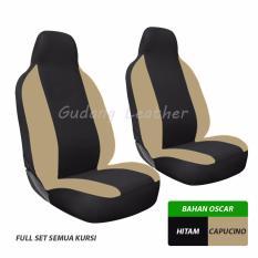 Gudang Leather Sarung Jok Karimun Wagon R (Hitam-Capucino)