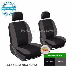 Gudang Leather Sarung Jok Mobil Avanza 2008 (Hitam - Abu2) - OSCAR