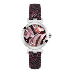 GUESS COLLECTION Gc LADYBELLE Y20003L3 - Jam Tangan Wanita - Leather - Pink - Silver