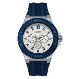 Harga Guess Jam Tangan Pria Silver Putih Rubber Biru W0674G4 Dan Spesifikasinya