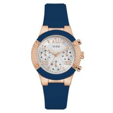 Jual Beli Guess Jam Tangan Wanita Guess W0958L3 Rockstar Blue Silicone Watch