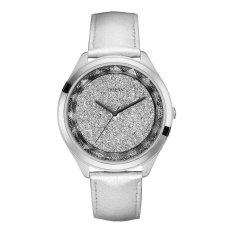 Guess - Jam Tangan Wanita - Silver-Silver Pasir - Strap Silver- W0652L1