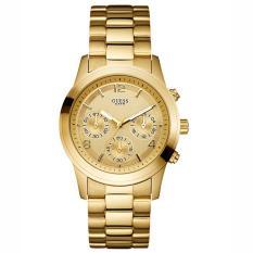 Guess U13578L1 - Jam Tangan Wanita - Chronograph - Gold