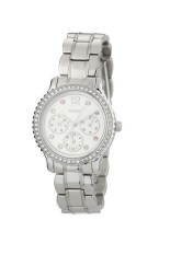 Review Toko Guess W0305L1 Multifunction Jam Tangan Wanita Silver Stainless Steel Online