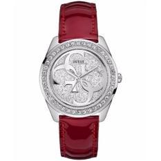 Harga Guess W0627L5 Jam Tangan Wanita Tali Kulit Merah Merk Guess