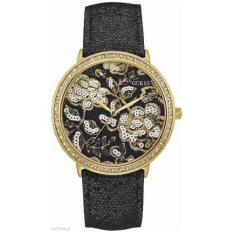 Jual Guess W0820L1 Jam Tangan Wanita Black Gold Di Bawah Harga
