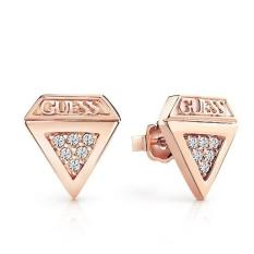 Guess Women Earrings Guess Diamonds Rose Gold Indonesia