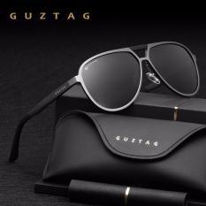 Beli Guztag Unisex Merek Klasik Pria Wanita Aluminium Sunglasses Hd Polarized Uv400 Cermin Pria Kacamata Matahari Wanita For Pria G9820 Kredit Tiongkok