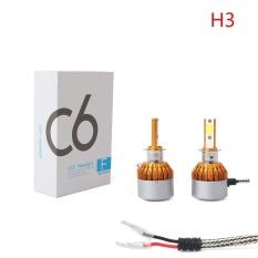 Harga H3 7200Lm Led Headlight Konversi Kit Mobil Beam Bulb Lampu Mengemudi 6000 K Intl Online Tiongkok
