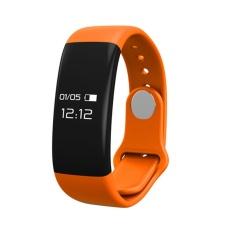 H30 Gelang Pintar Jam Tangan Gelang IP67 Tahan Air Berenang Bluetooth 4.0 Layar Sentuh Detak Jantung Passometer Smart Gelang-Intl