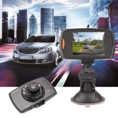 H300 1080 P Kendaraan Mobil Mengemudi Night Vision Perekam Kamera DVR W/Lampu-Intl