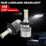 Harga H4 180 W 18000Lm Led Headlight Kit High Low Beam Ganti Halogen Xenon Intl New