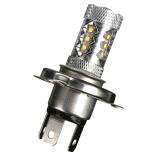 H4 80 Watt Cree Led Super Putih Cerah Ekor Mengubah Kepala Lampu Bohlam Lampu Rem Mobil Internasional Murah