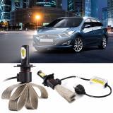 Toko H4 Auto Led Headlight Sabuk Pendingin Kit 72 W 4000Lm Cob Xm L2 Led Light Bulb Ld766 Intl Online