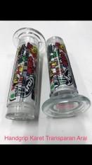 Handgrip Karet Transparan Arai V1 Set Grip Hanfat WMP-0158-D