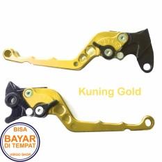 Jual Handle Rem Satria Fu Variasi Motor Bahan Full Cnc Gold Branded Murah