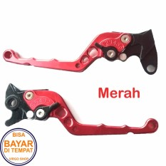 Diskon Handle Rem Tiger Variasi Motor Bahan Full Cnc Merah Virgo Racing
