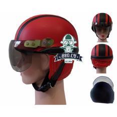 Handmade Helm Anak Shincan Lucu Motif Polos Merah Garis Hitam Untuk Usia 1 Sampai 4 Tahun Merah Jawa Timur Diskon 50