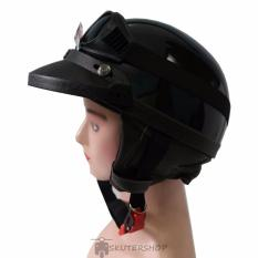 Beli Handmade Helm Chips New Kacamata Plus Pet Glossy Hitam Baru