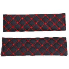 Harga Hang Qiao Seat Belt Cover Set Of 2 Red Terbaru