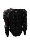 Harga Hanyu Perlengkapan Pelindung Sepeda Motor Motorcross Racing Full Body Armor Spine Jaket Pelindung Hitam Hanyu Baru