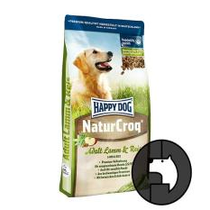 Happy Dog Natur Croq 4 Kg *d*lt Lamb And Rice Happy Dog Diskon 40