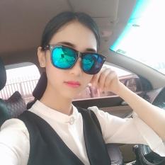 Beli Harajuku Kacamata Hitam Kacamata Hitam Karakter Merah Perempuan Baru Online Terpercaya