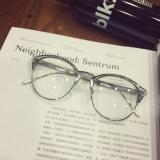 Spesifikasi Bingkai Kacamata Setengah Bingkai Metal Modern Gaya Retro Dan Harga