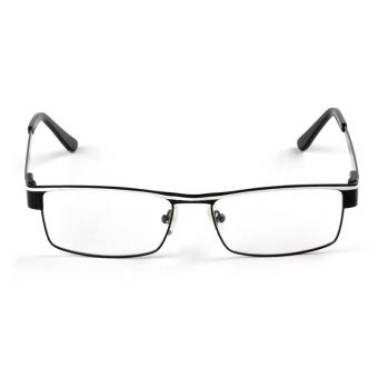 Price Checker Harbeen Fashion Baru Optik Miopia Lampu LED Pengeras Suara Kacamata Logam Campuran Perisai Bingkai