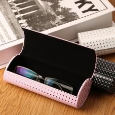 Keras Kacamata Tontonan Kotak Kacamata untuk Wanita, China Besi Lembar Optik Tas Miopia Kotak Lonjong Magnet Baca Mata Buatan Tangan Kotak -Internasional