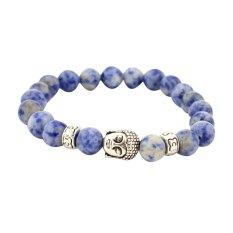 Harga Valentine S Day Silver Gold Buddha Rosario Gelang For Wanita Dan Pria Pulseras Gelang Perhiasan Batu Alam Joylivecy Asli