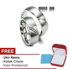 Harmard - Cincin Exclusive dengan USA Diamond untuk Nikah / Kawin / Tunangan - Model 801
