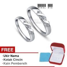 Harmard - Cincin Exclusive dengan USA Diamond untuk Nikah / Kawin / Tunangan - Model 810
