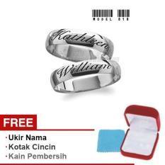Harmard - Cincin Exclusive dengan USA Diamond untuk Nikah / Kawin / Tunangan - Model 818