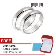 Harmard - Cincin Exclusive dengan USA Diamond untuk Nikah / Kawin / Tunangan - Model 827
