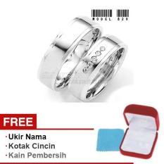 Harmard - Cincin Exclusive dengan USA Diamond untuk Nikah / Kawin / Tunangan - Model 829