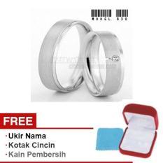 Harmard - Cincin Exclusive dengan USA Diamond untuk Nikah / Kawin / Tunangan - Model 830